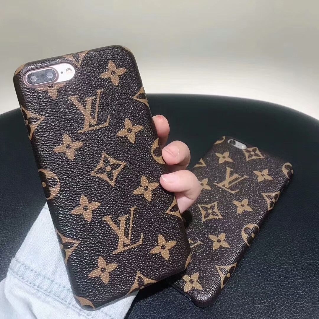 hot sales 656c0 97cc9 Louis Vuitton Classic Leather Case For iphone x/iphone6/6plus/7 ...