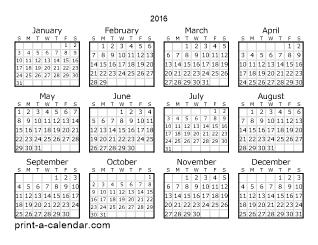 download 2016 printable calendars printable calendars pinterest