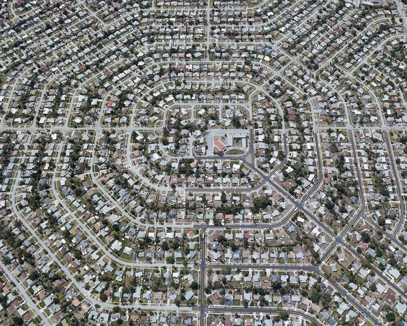 Urbanw - ombuarchitecture: Aerial Views of American Sprawl