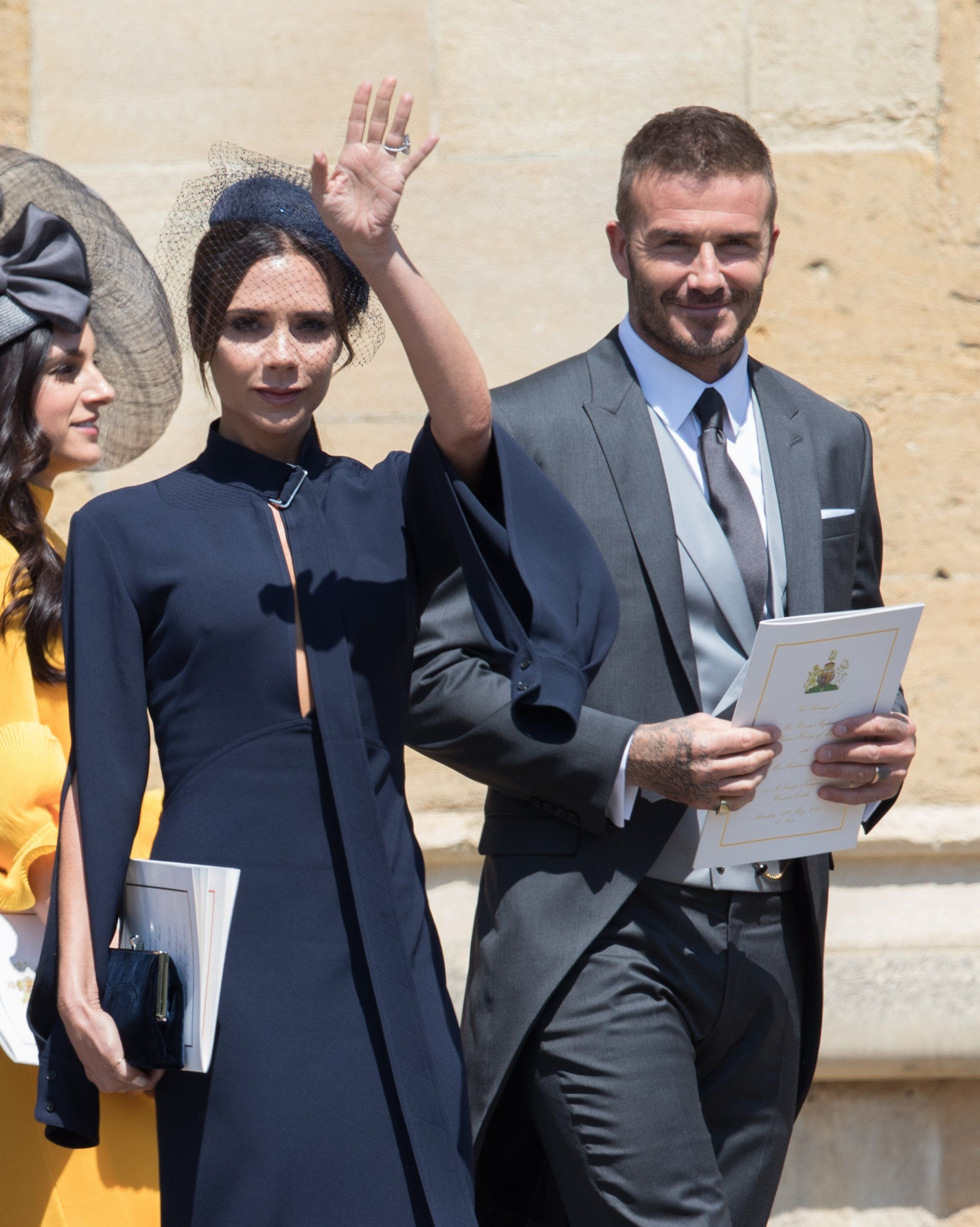 Victoria Beckham At Prince Harry And Meghan Markle S Wedding Style