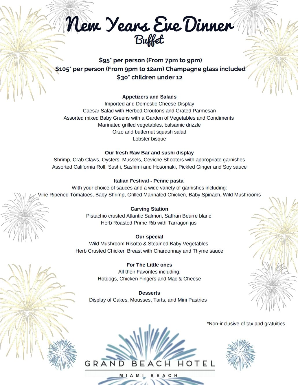 Join Us At Chez Gaston Restaurant As We Send Off 2018 And Welcome The New Year 2019 Our Festive New Year S Eve Dinner Cheese Display Grand Beach Hotel Buffet