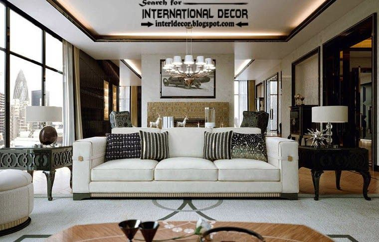 Art Deco Living Room Endearing Design Decoration
