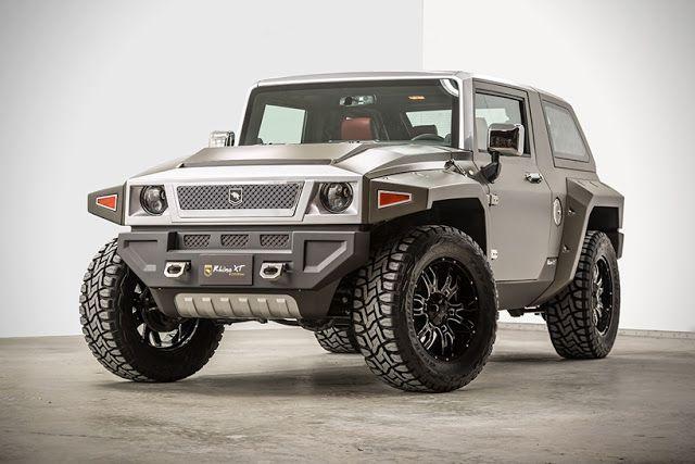 El  USSV Rhino XT es un SUV de lujo construido para las calles