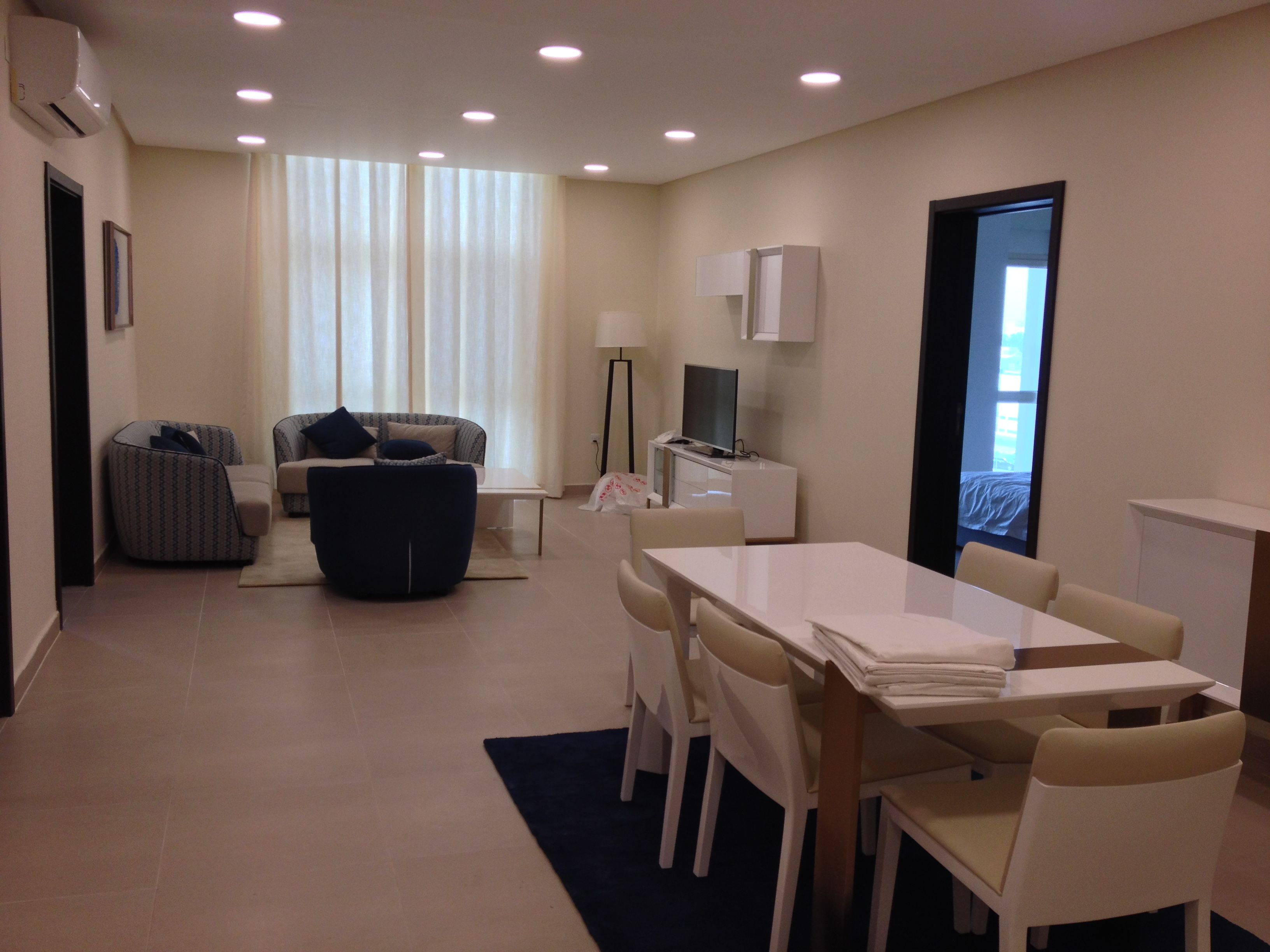 Bahrain Apartment For Rent In Adliya One Bedroom Flats And Two Furnished Suitable Families Executives