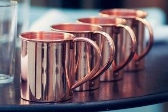 Mugs at the high table