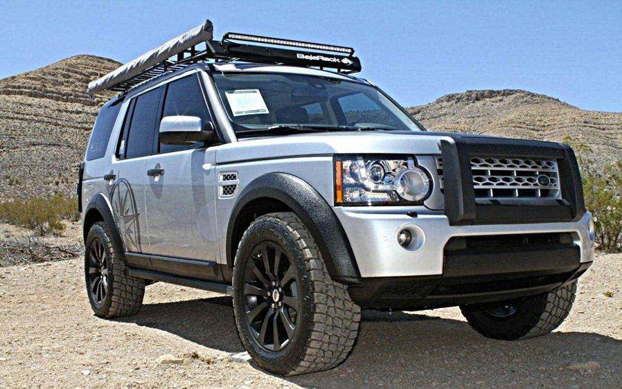 Land Rover LR4 Roof Rack 4WD Roof Racks Australia Land