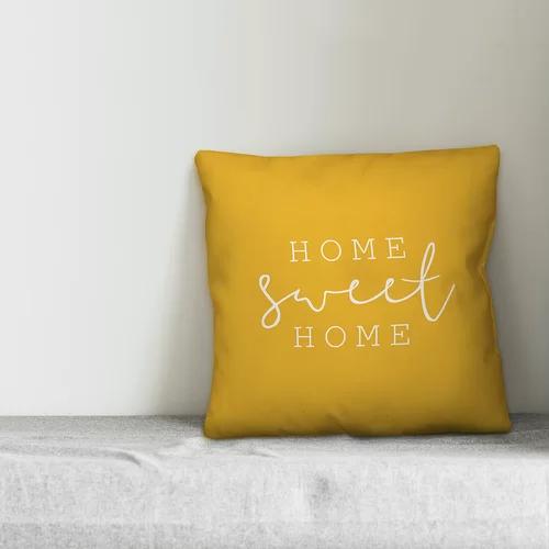Cohn Home Sweet Home Indoor Outdoor Throw Pillow Throw Pillows Pillows Fall Throw Pillows