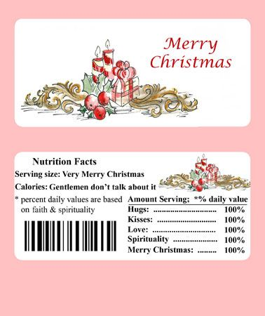 Candy Wrapper Templates Images Free Printable Christmas Candy Bar