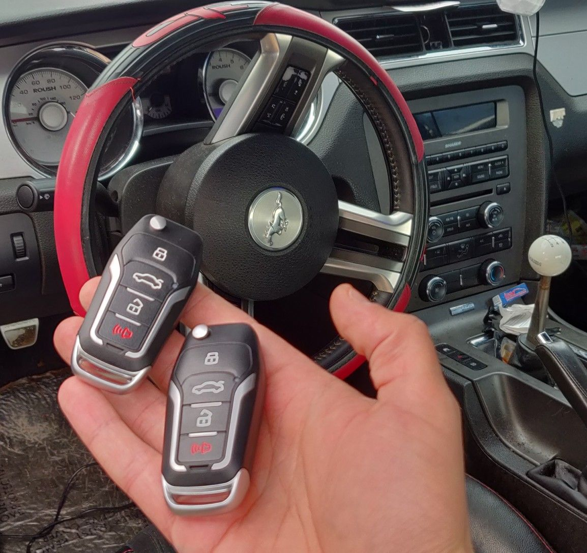 Car Key Replacment Ford Mustang Supercharger All Keys Lost