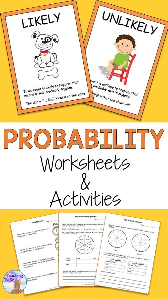 probability worksheets activities first grade math probability worksheets probability. Black Bedroom Furniture Sets. Home Design Ideas