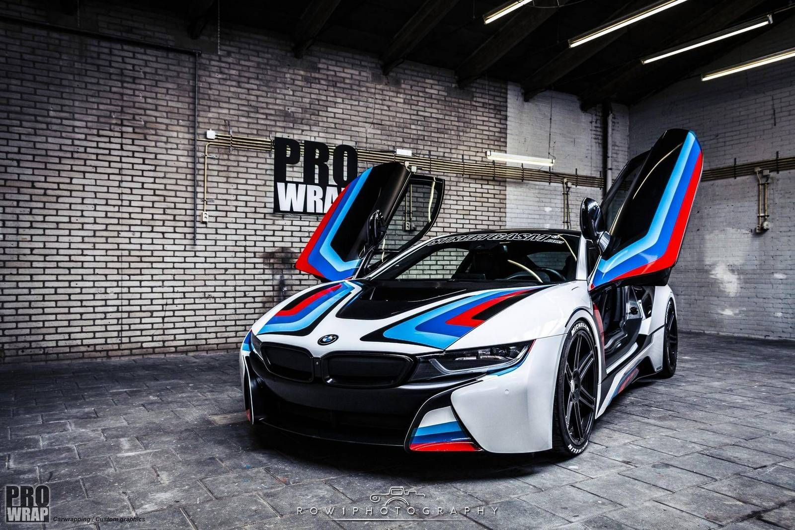 Check Out This Custom Bmw I8 Wrapped By Prowrap Professional