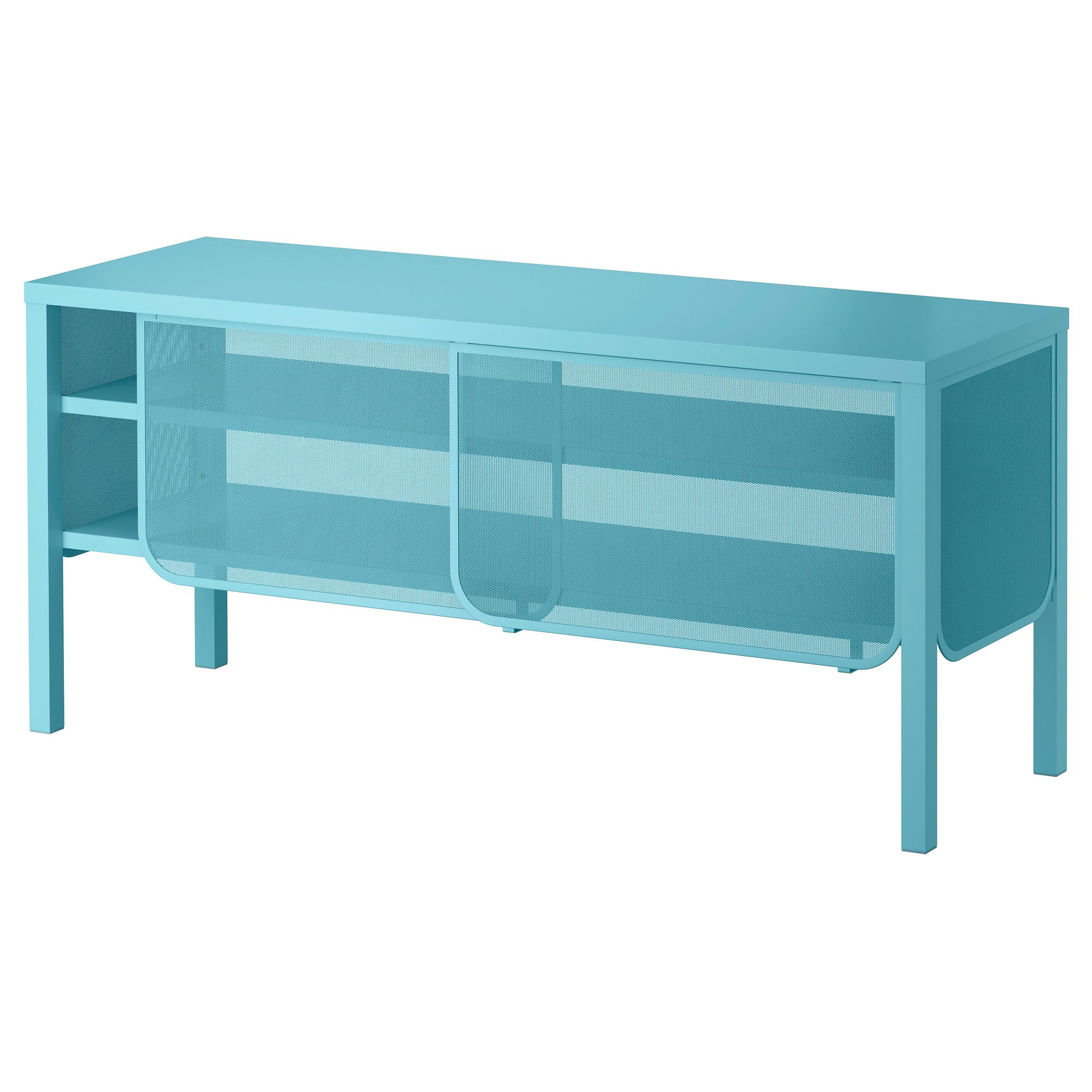 Nittorp Tv Unit Turquoise Ikea Matches The Raskog Cart  # Meuble Tv Stockholm