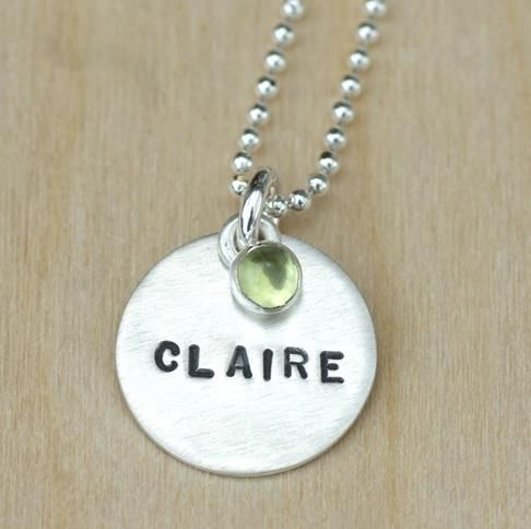 Hot Mama Designs Sterling Silver Necklace -a personalized treasure  http://www.realbabyinc.com/moms-and-moms-to-be/gifts/hot-mama-designs/sterling-silver-necklace-pid-12998