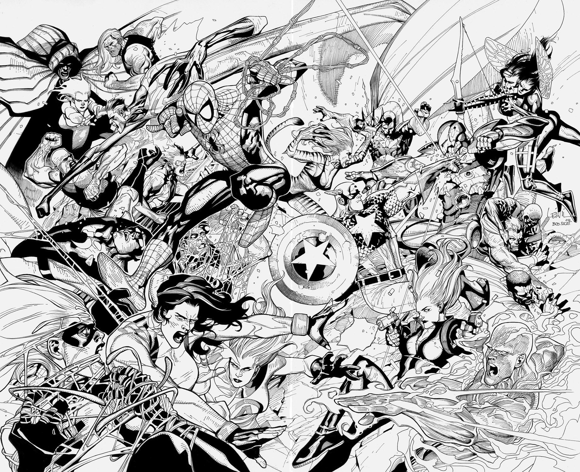 Avengers: Civil War by boysicat | Ilustração e Imagems