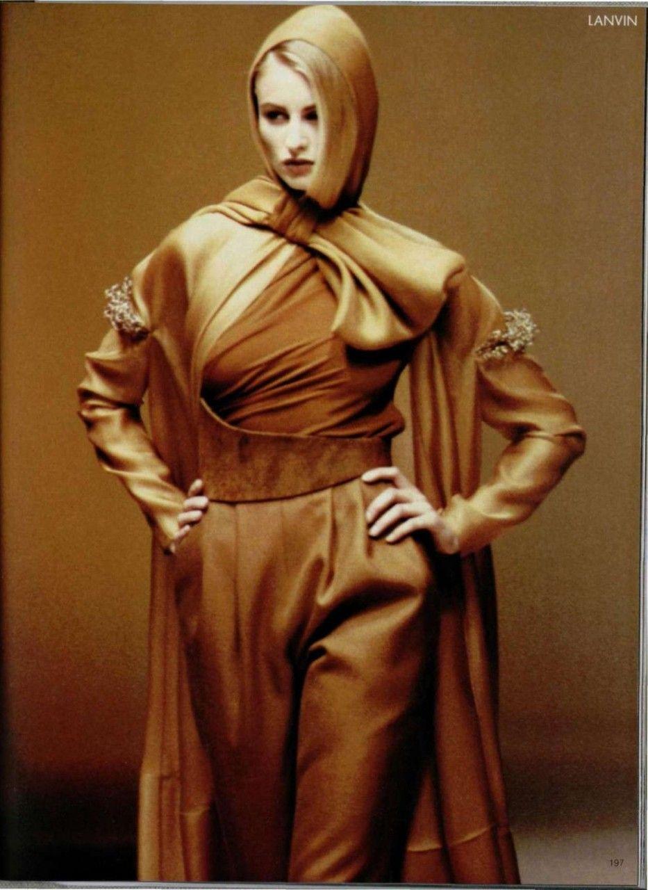 Lanvin Haute Couture By Claude Montana Via Spiral1532 At The Fashion Spot Fashion Genius Fashion Haute Couture