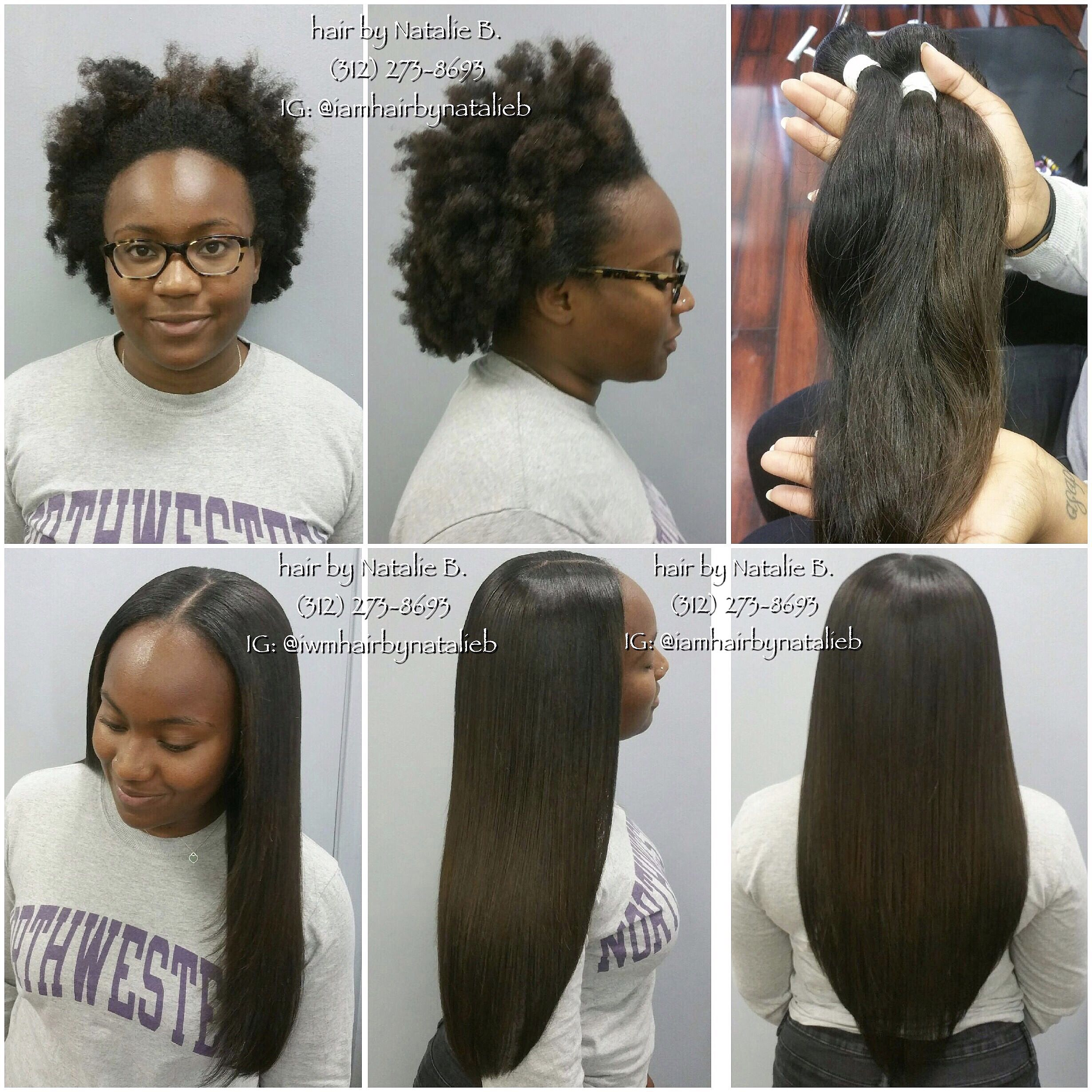 Natural looking sew in hair weave installation by natalie b no she doesnt need weave but if youre going to wear a weave make sure that it looks like it could be your own hair pmusecretfo Images