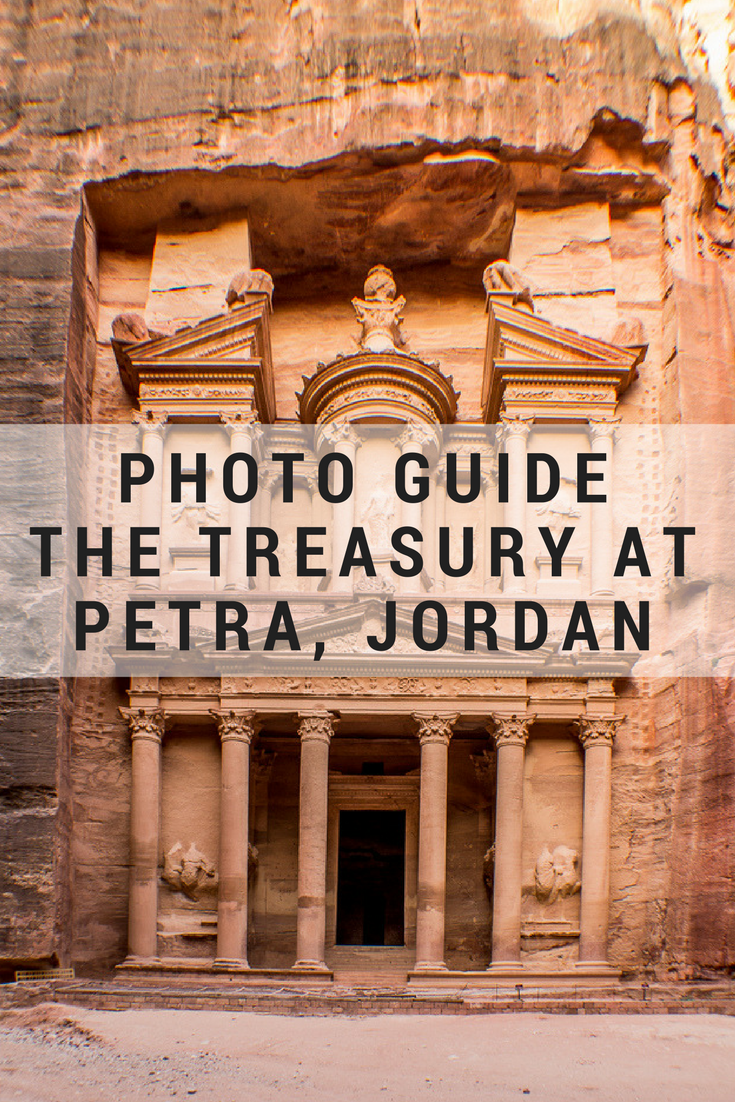 5 ways to photograph the treasury at petra | middle east travel