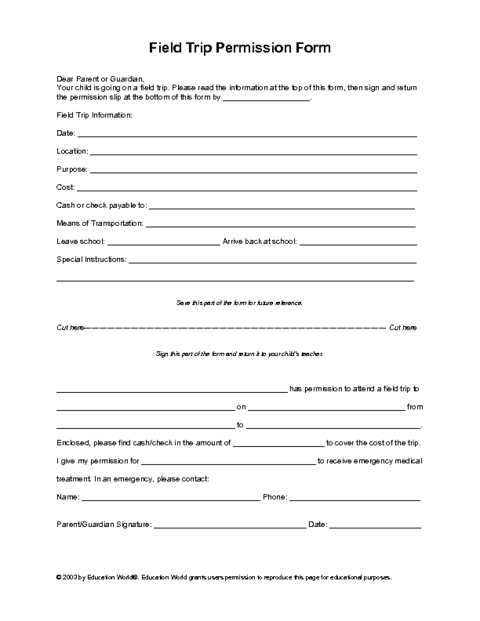 school form templates