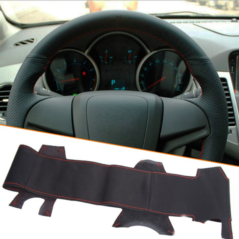 Steering Wheel Cover For Cars Universal Almost A Gift Octovia Tiida Mini Niva Duster Xray Smily Terrano Mokka Steering Wheel Cover Interior Accessories Picanto