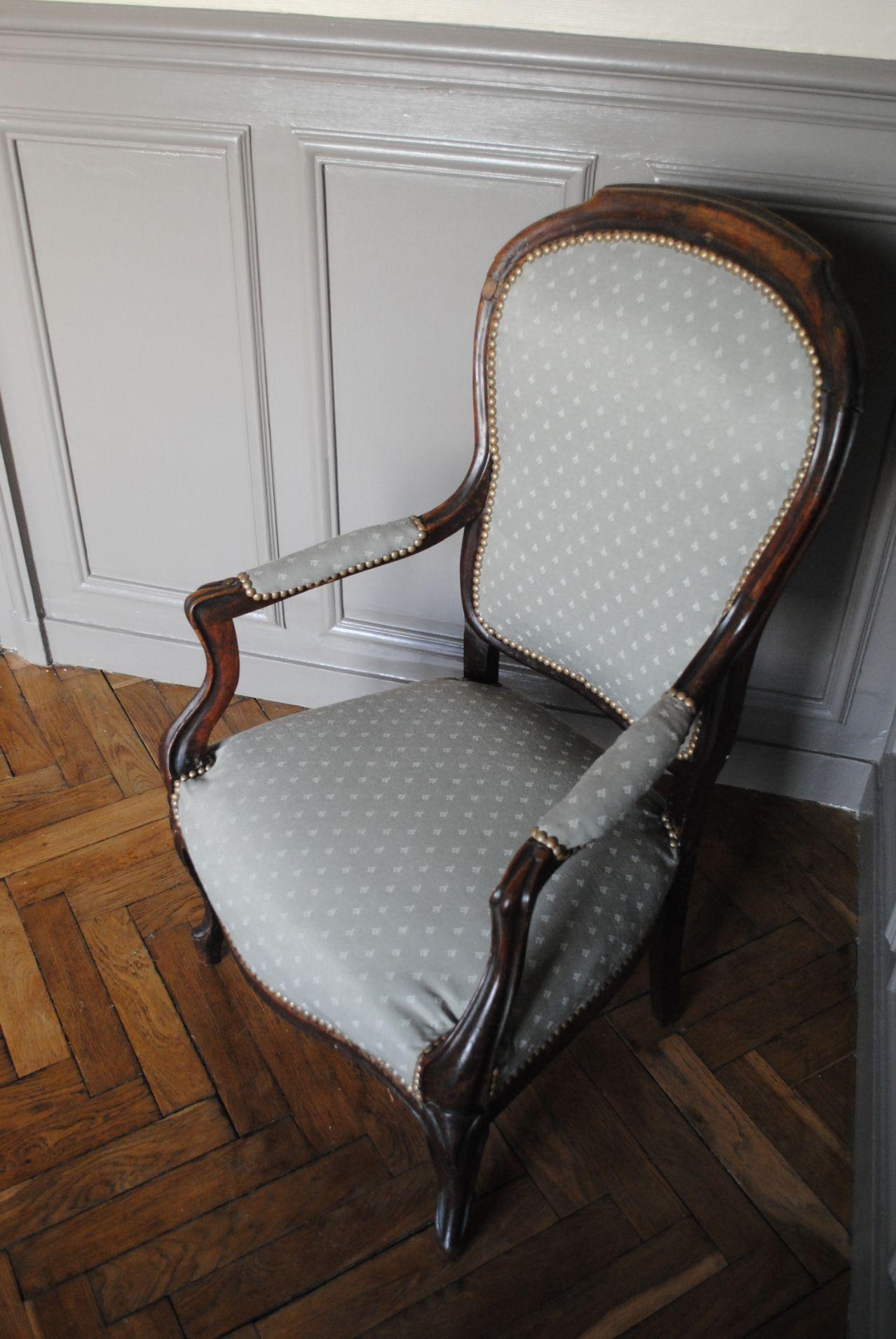 Retapisser Un Fauteuil Prix diy – fauteuil retapissé   retapisser un fauteuil, diy