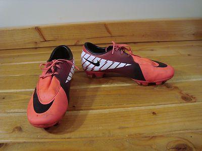Women HOT Pink Black Nike Mercurial Soccer Cleats Shoes 7 | eBay