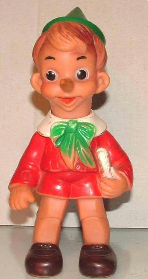 Pinocchio con mela disney jugasa u anni u cm u creature di gomma