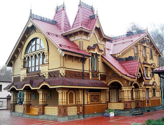 Image Result For Victorian Homes In Moscow Russia Russian