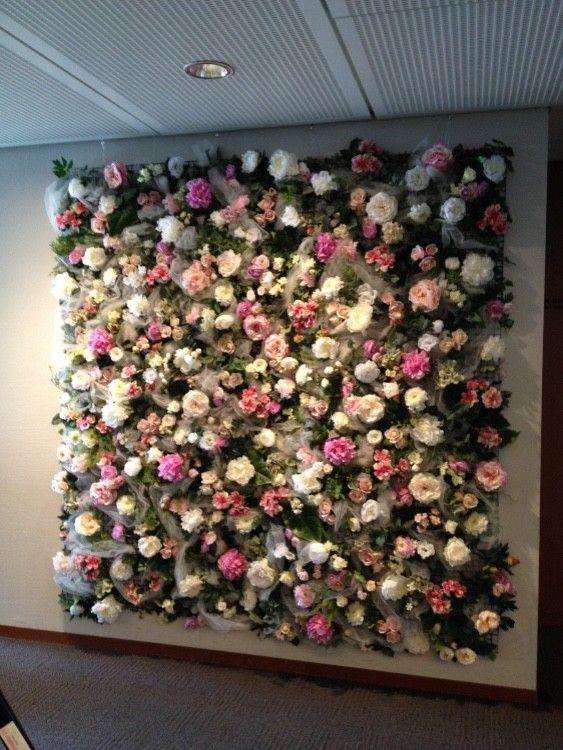 フラワーウォール 花の壁 壁 花の壁 インドアガーデニング