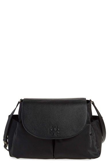 3b0d2ed19e37 Tory Burch  Thea  Messenger Leather   Nylon Baby Bag available at  Nordstrom