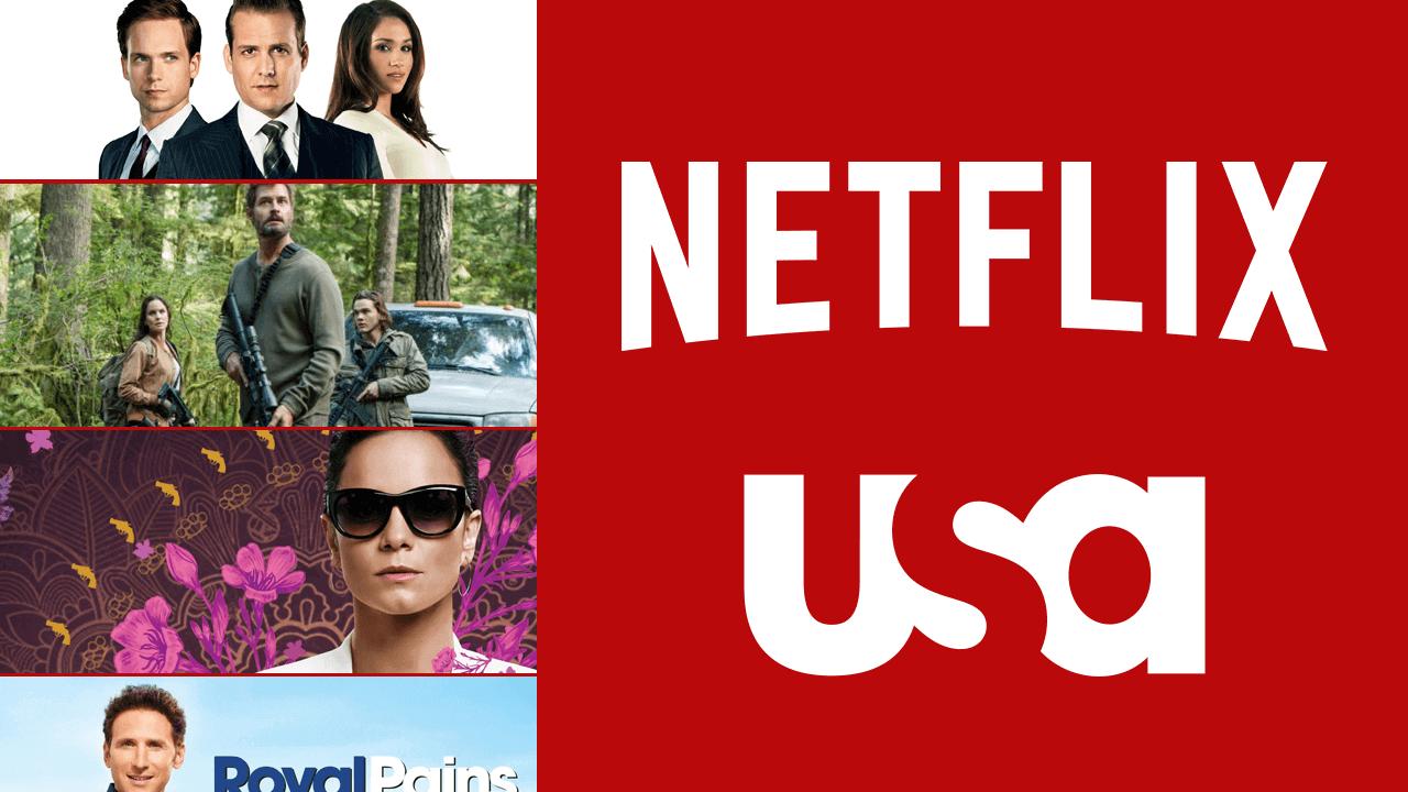 List of USA Network Shows on Netflix Usa network