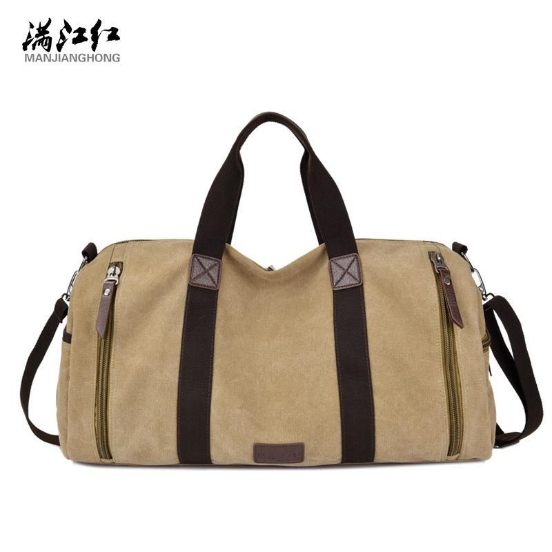 d5dfc2f58c Men s Canvas Travel Totes Male travel Bag Canvas Casual Shoulder Bags Large  Capacity Travel Luggage Bags Vintage Bags. Yesterday s price  US  17.69  (15.33 ...