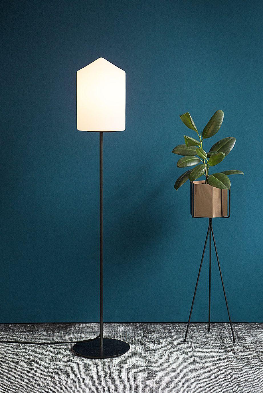 Bullet Floor Lamp Glass E 27 Design By Benjamin Hopf For