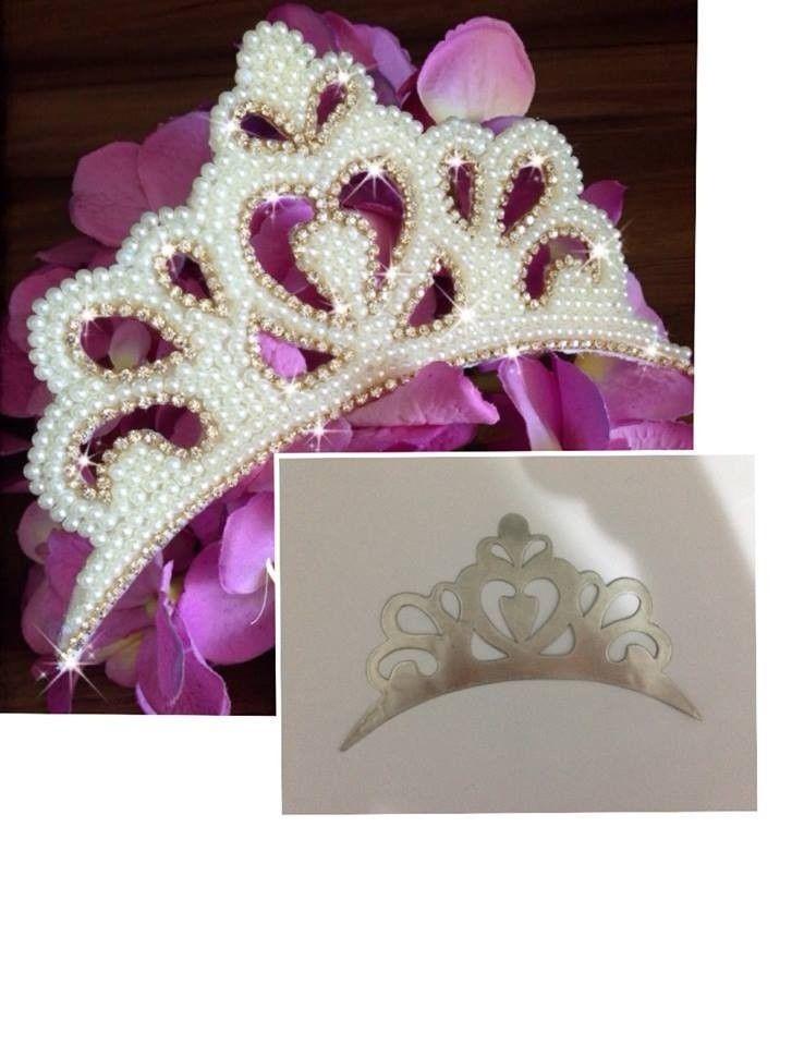 molde coroa princesa - Cristiane M.P.Blanco    COROAS   Diy tiara ... 99a4e7951e
