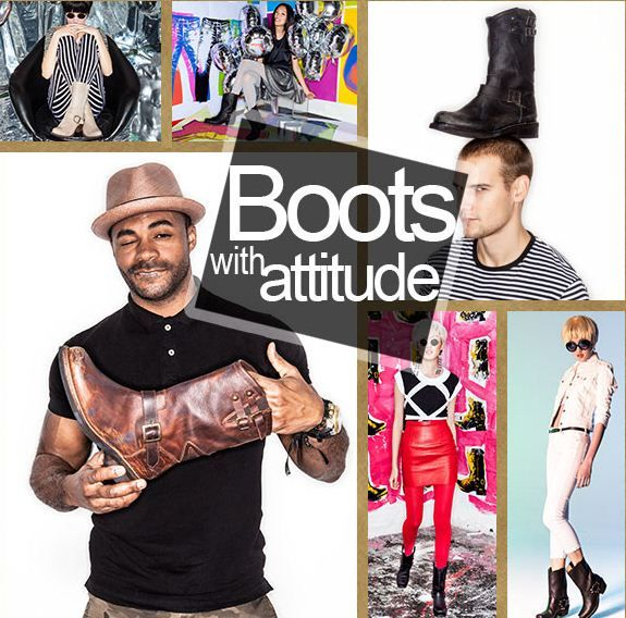 Durango Boots with Attitude