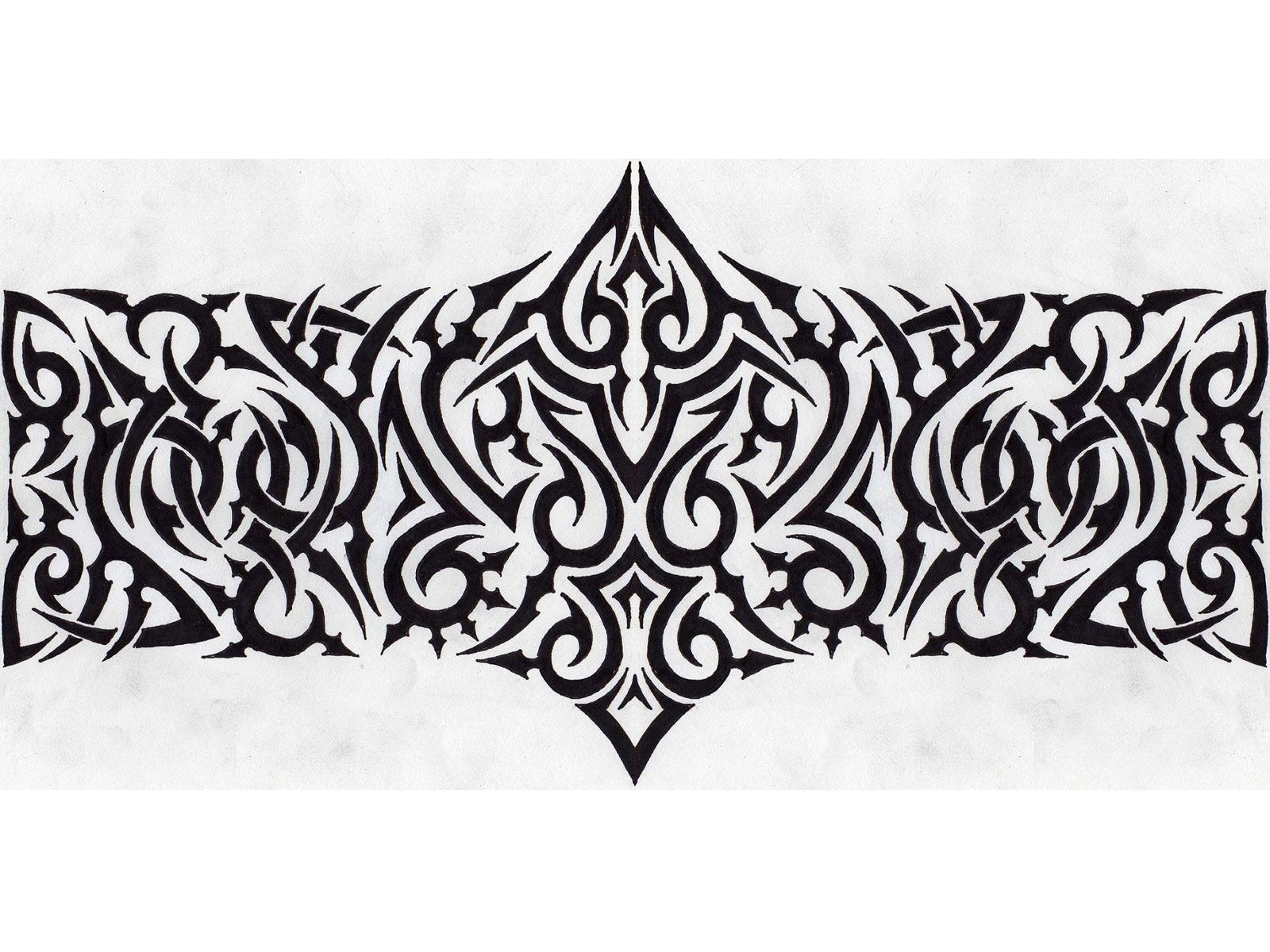 Tribal Armband Tattoo Designs Band tattoo designs, Band