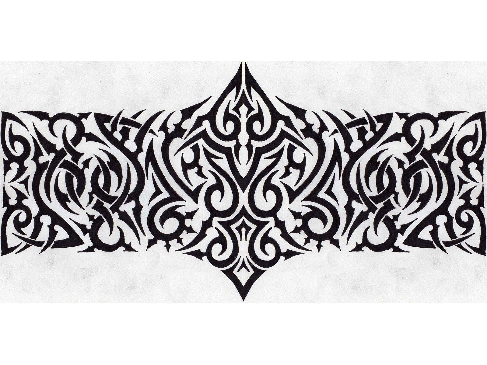 tribal armband tattoo designs possibility pinterest armband tattoo tribal armband tattoo. Black Bedroom Furniture Sets. Home Design Ideas