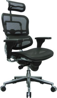 Staples Ergonomic Mesh Executive Chair With Headrest Girly Desk Eurotech High Back Task Black Me7erg N Furniture Has The Raynor Ergo Human Managers Chairs And You Need For Home Office Or Business
