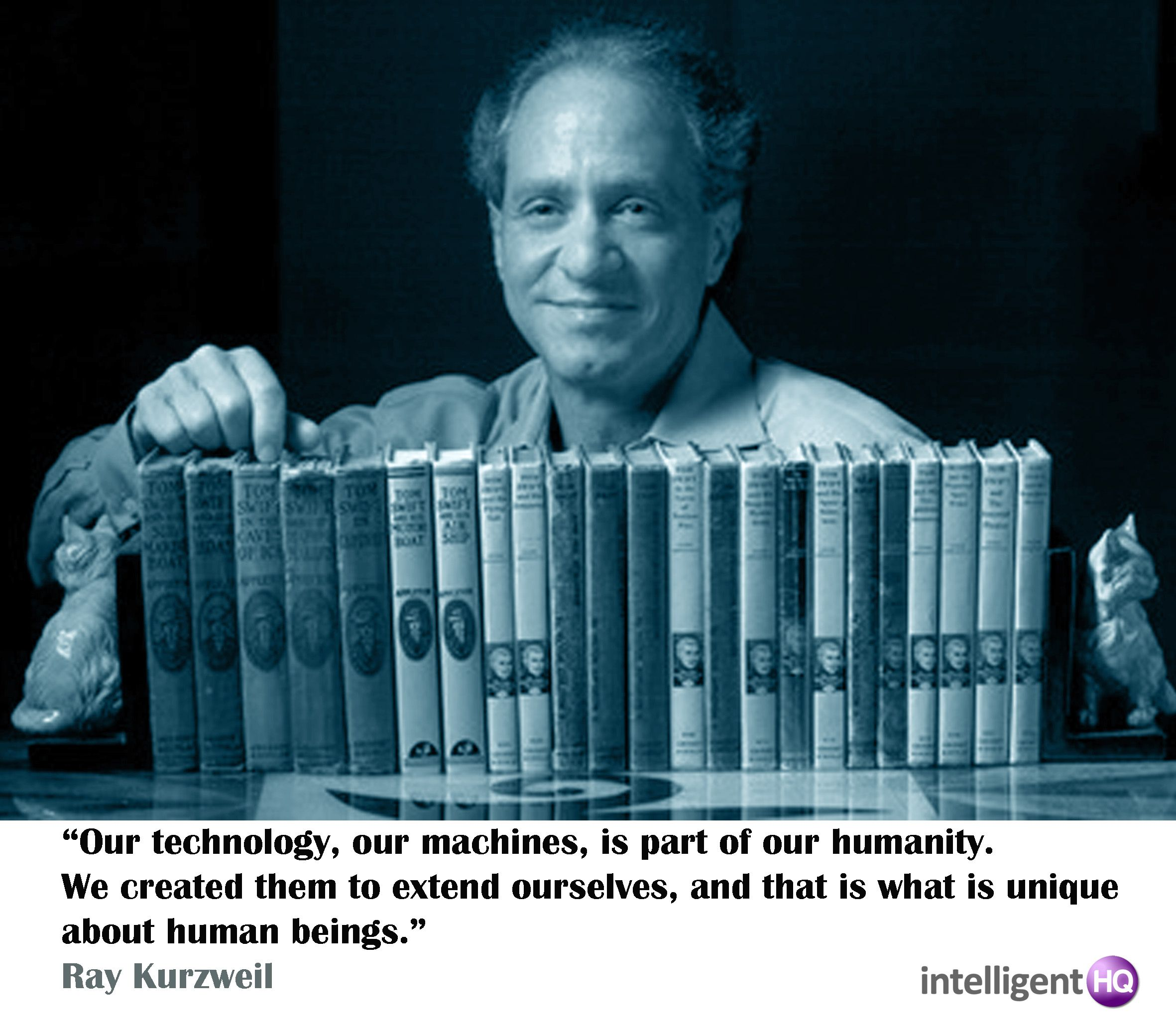 The Coming Singularity: Ray Kurzweil   Artificial Intelligence And  Magnificent Brain