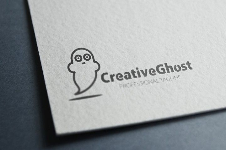 Creative Ghost Logo