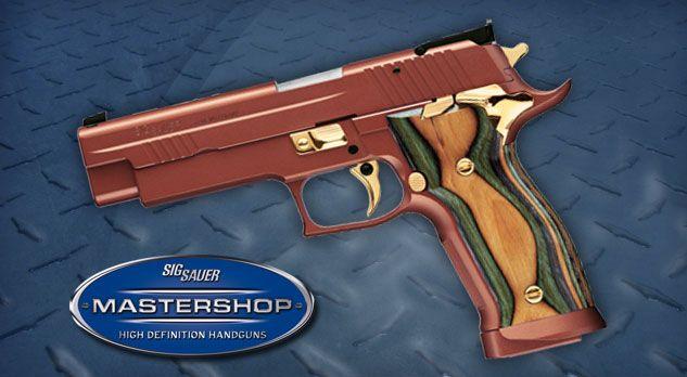 P226 X-FIVE GOLDEN DRAGON   Guns   Guns, Hand guns, Sig sauer