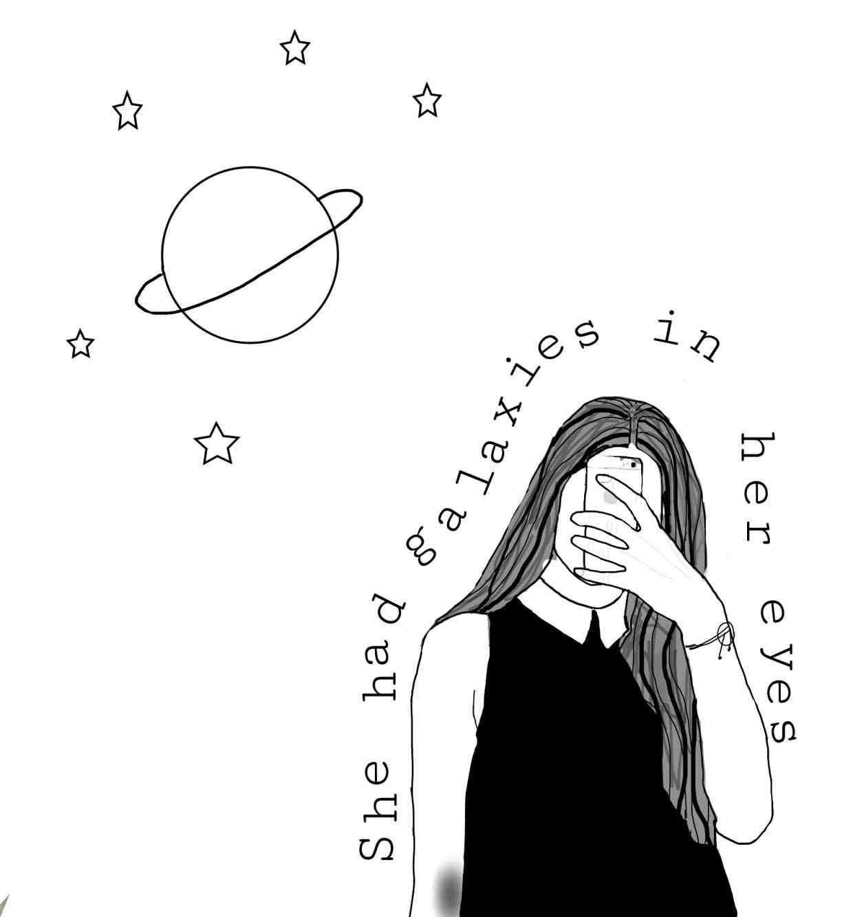 Sad Tumblr Aesthetic Monsters Drawings Www Topsimages Com