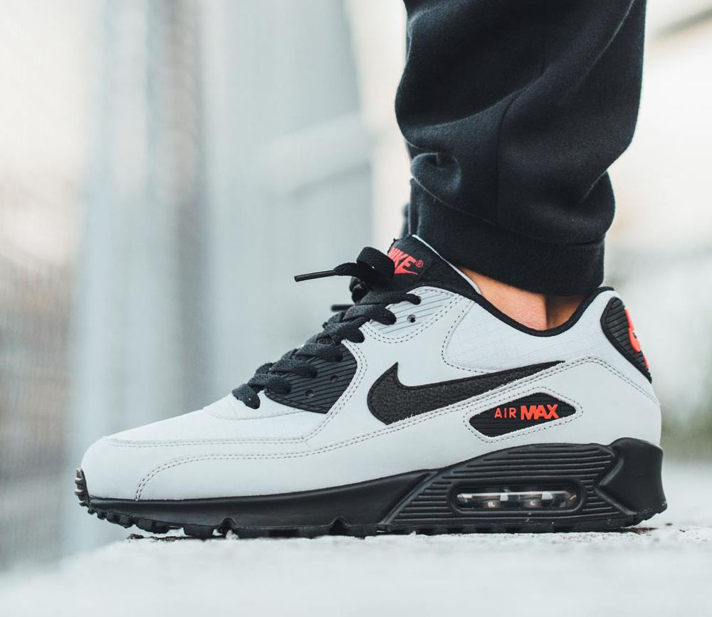Nike Air Max 90 Essential Wolf Grey Black Black