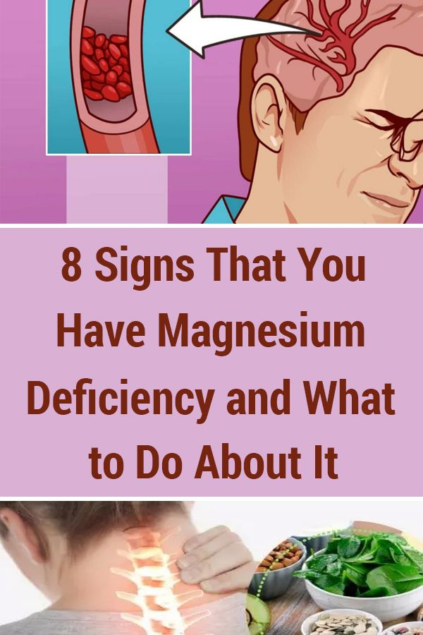 8 Signs That You Have Magnesium Deficiency And What To Do About It Magnesium Deficiency Healthy Habits Health Tips