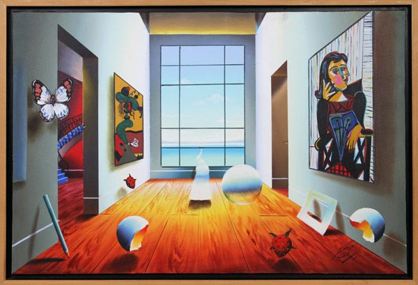 Artist: Ferjo, Brazilian (1946 - ) Title: Untitled - A New Day ...