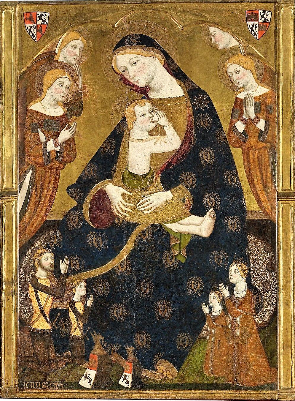 Jaume Serra (Catalonean artist, d c 1405) Virgen de Tobed 1359