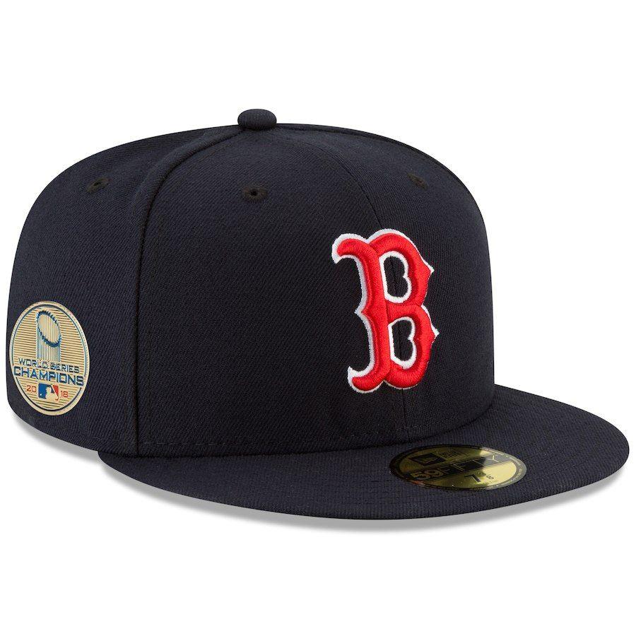 24c6b3512 Men's Boston Red Sox New Era Navy 2018 World Series Champions ...
