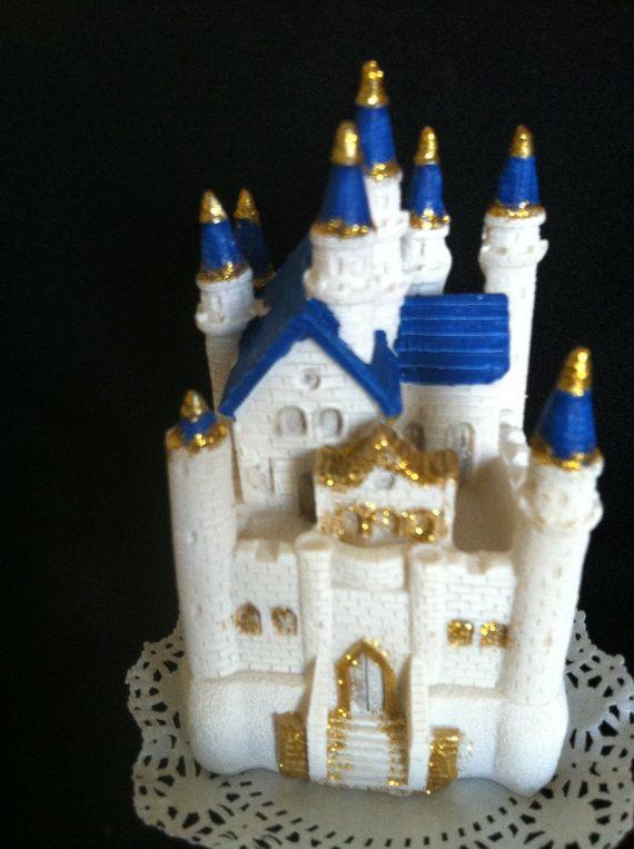 pink castle cake topper princess first birthday blue castle centerpiece princess birthday cake decor princess castle table centerpieces - Blue Castle Decor