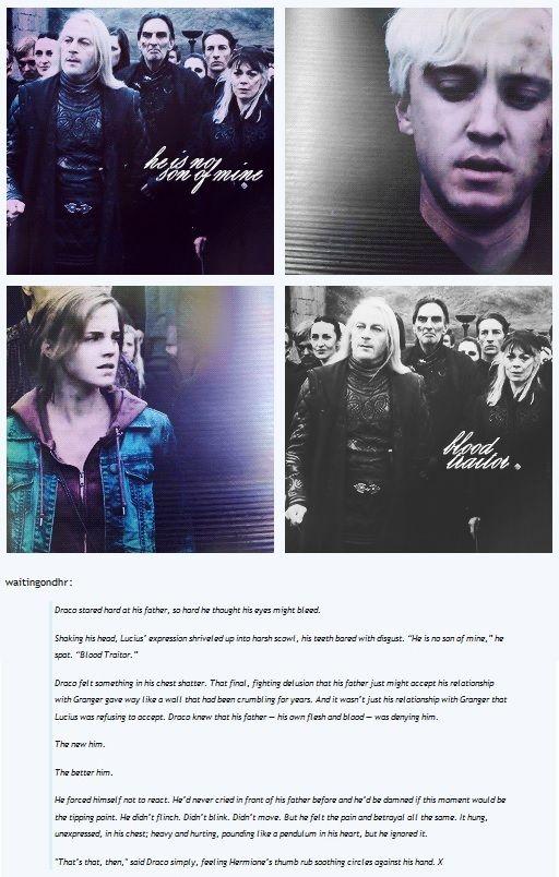 GIF SET - Draco & Hermione / Dramione