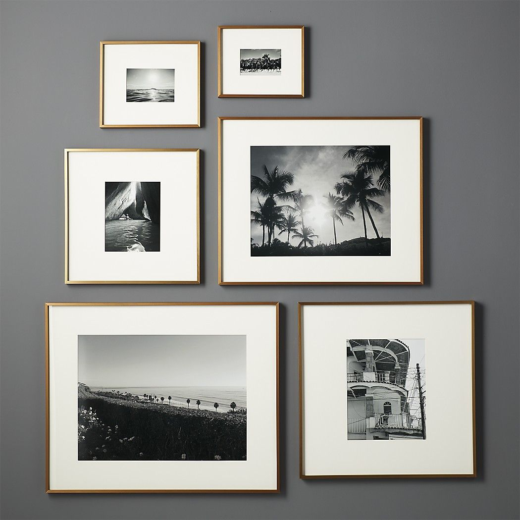 Gallery Brass Frame With White Mat 4x6 En 2019 Picture