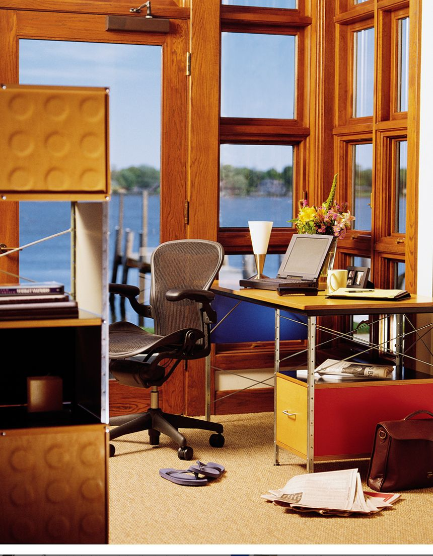 Eames Desk Unit Chairs for small spaces, Office waiting